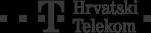 hrvatski telekom grayscale logo