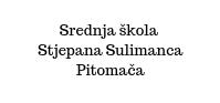 Secondary school Stjepan Sulimanac in Pitomača
