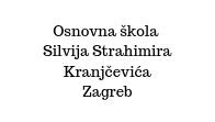 Primary school Silvije Strahimir Kranjčević in Zagreb