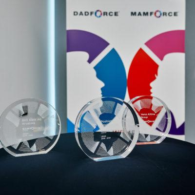 mamforce metoda nagrađuje rodno balansirane, pravične i obiteljski odgovorne poslovne prakse